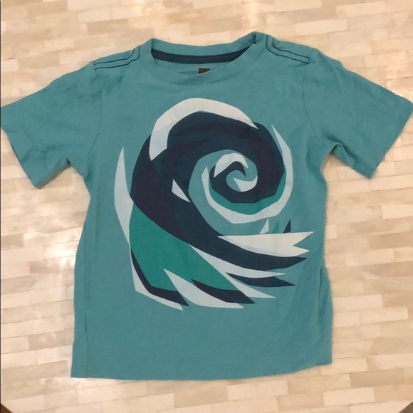 Tea Collection Other - Tea Collection soft wave t shirt size 3